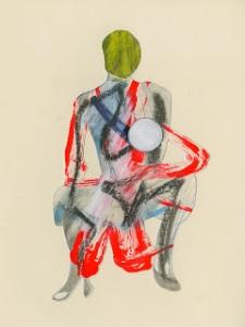 Image courtesy of the artist, Jason Brinkerhoff, Untitled, 2011, graphite, 11 1/2 x 8 5/8 inches