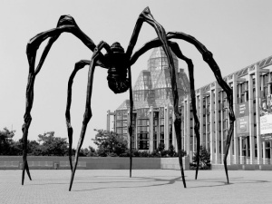 "Louise Bourgeois, ""Maman"", at the  National Gallery of Canada, Ottawa"