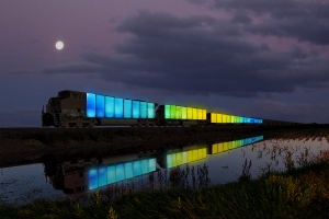 Digital Rendering of Station to Station, image courtesy of artist Doug Aitken