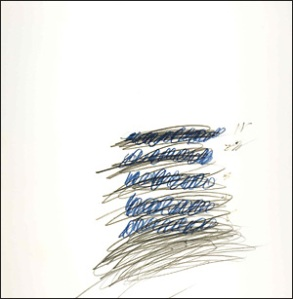 Letter of Resignation XXXI by Cy Twombly, 1967, © Cy Twombly
