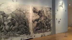 "20012 ArtPrize winner Adonna Khare's ""Elephant"", image courtesy of the artist and ArtPrize"