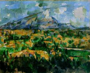 Paul Cézanne, Le Mont Sainte-Victoire (1902-04), image courtesy the Philadelphia Museum of Art