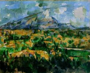 Paul Cézanne, Le Mont Sainte-Victoire (1902-04), image courtesy the Philadelphia Museum of Art