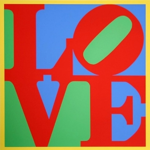 "Robert Indiana, ""Love"""