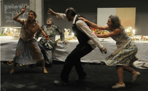 """Image of Compagnie Maguy Marin performance of """"Salves"""" courtesy of Canada's National Art Centre web site"""