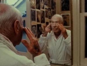 "Film still from film ""Henry Miller Asleep and Awake"""