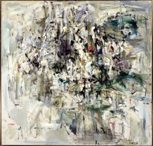Joan Mitchell painting, 1953, courtesy of the Walker Art Center, and the Joan Mitchell Foundation