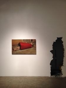 Installation photograph of Pantopticum show at Robert Miller Gallery, image by CHE
