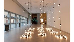 Sturtevant Gonzalez-Torres Untitled (America), Moderna Museet, 2012 © Sturtevant. Photo: Åsa Lundén/Moderna Museet
