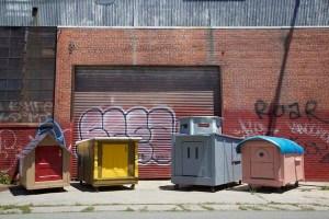 Image of homeless homes courtesy Gregory Kloehn