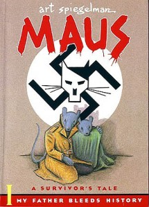 Cover of the first volume of Maus. Creator, Art Spiegelman