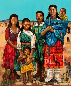 """Santo Toribio Romo"", courtesy the artist, Erin Currier"