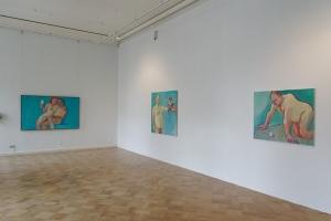 Installation view, Maria Lassnig, Manifesta 10 Photo: Wolfgang Träger © Manifesta